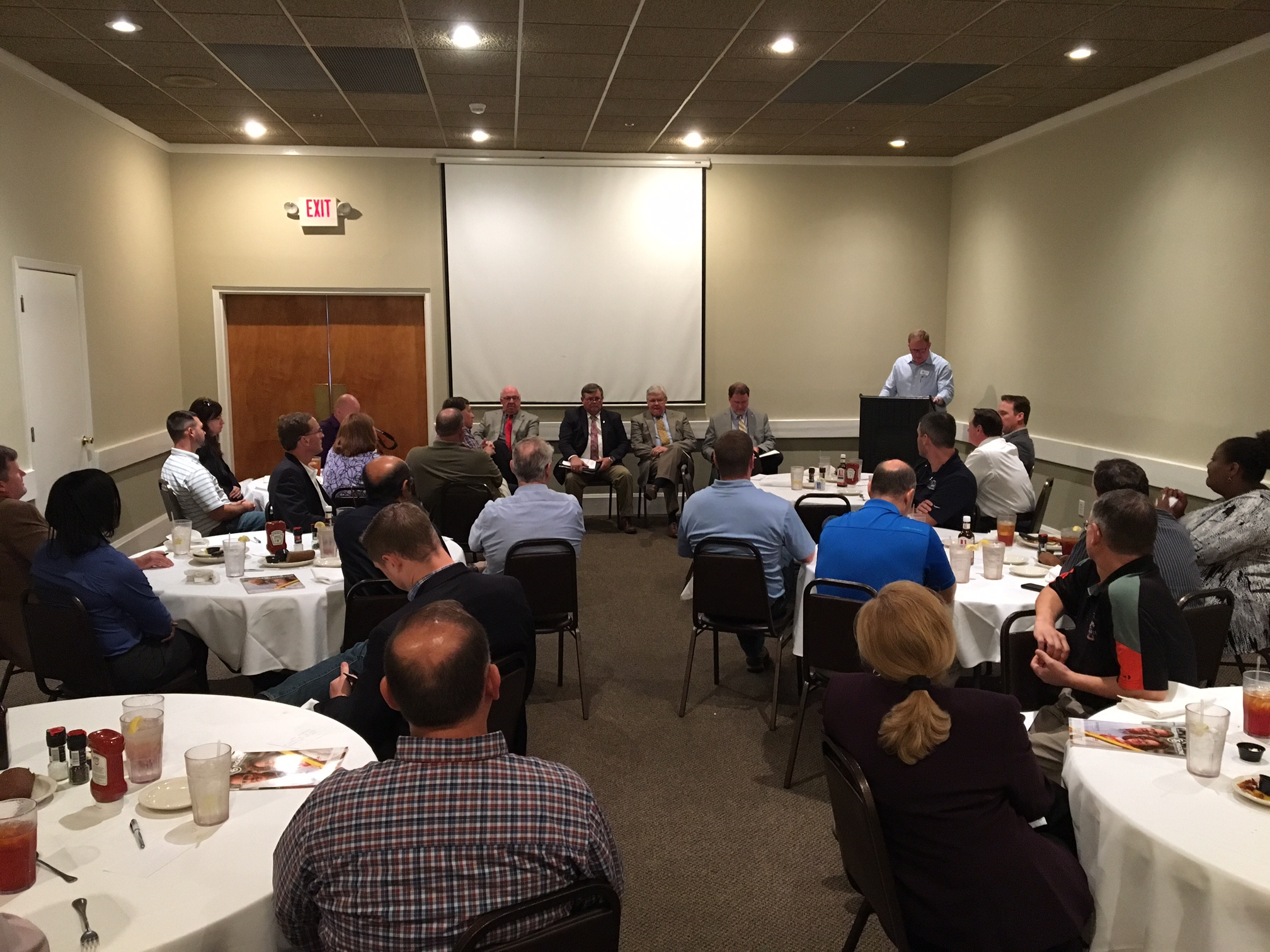 Existing Industries Hear From Local Government Leaders