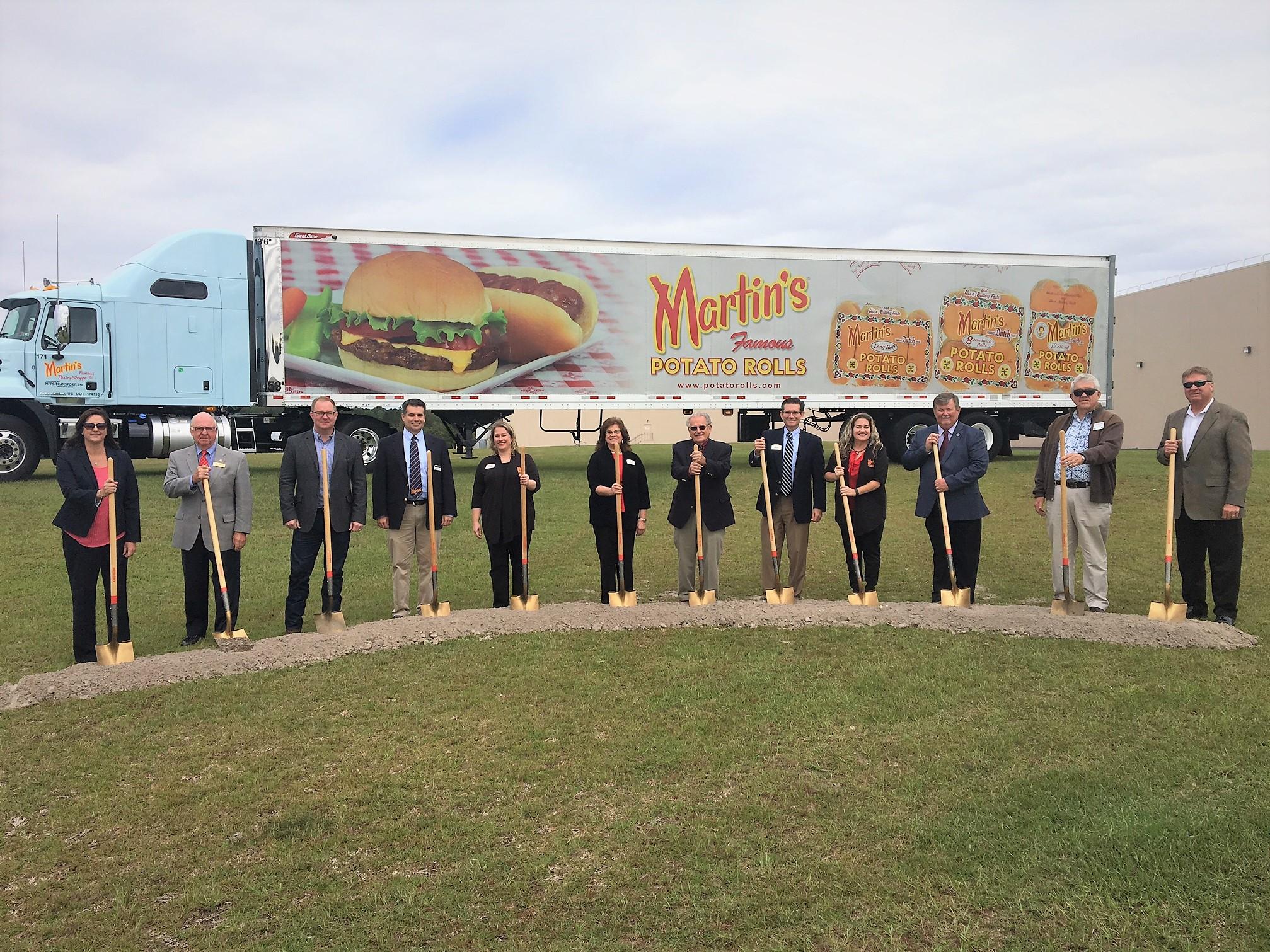 Martin's Announces Expansion At The Valdosta, Georgia Bakery