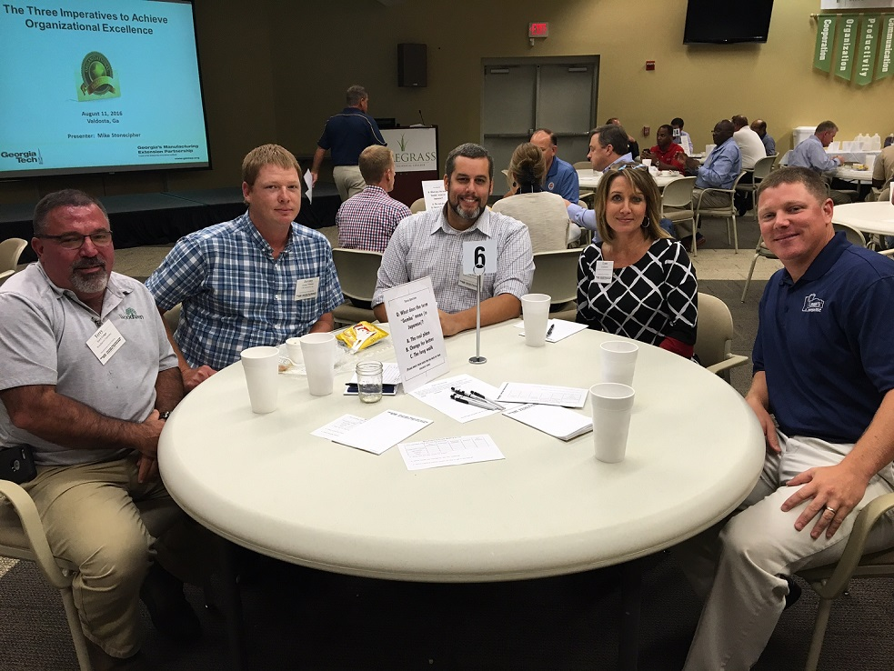Local Manufacturing Leaders attend Manufacturing Growth, Tools for a Stronger Business