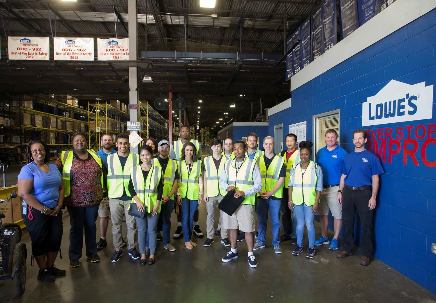 Valdosta State University Students Tour Local Supply Chain and Logistic Companies