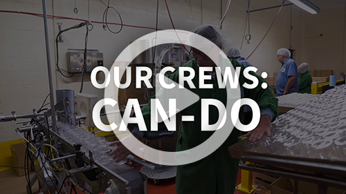 Our Crews Can-do